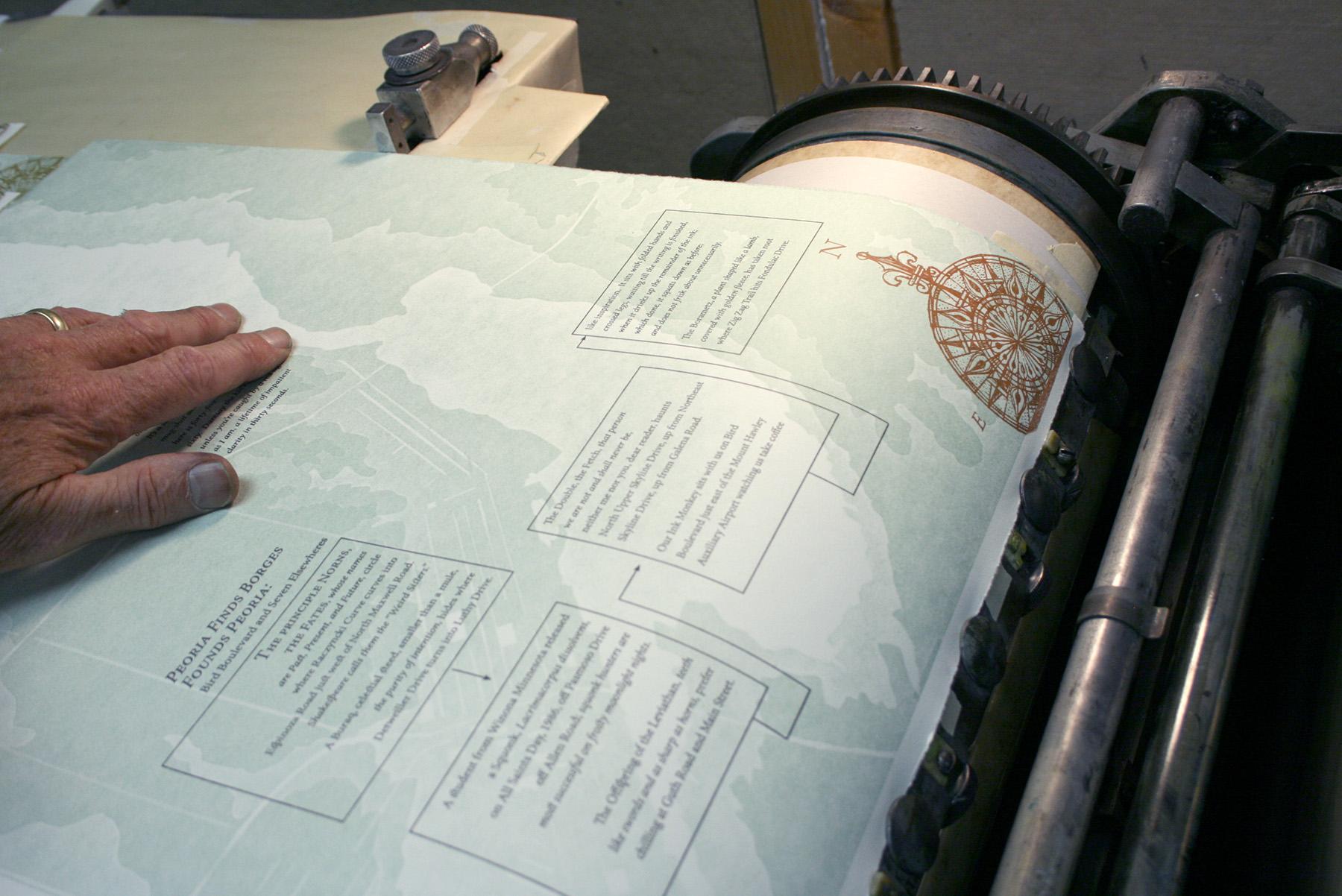 Printing Map