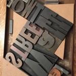 diagonal woodtype lockup