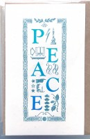 """Peace"" note card 5-pack"