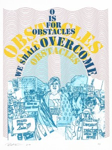O is for Obstacles we shall Overcome